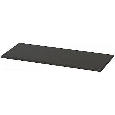 Ceha 深型スチール収納庫 追加棚板 オープン・両開き専用 幅875×奥行455×厚さ18mm ブラック 1枚 (取寄品)