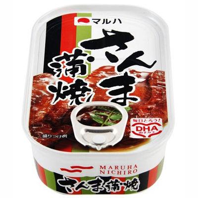 マルハ さんま蒲焼 1缶