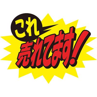 タカ印 クラフトPOP これ売れてます! 13-4073 1袋(10枚入×5冊) (取寄品)