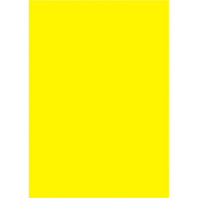 タカ印 ケイコーポスター B5判・レモン 薄口 13-5105 1冊(50枚入) (取寄品)