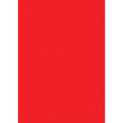タカ印 ケイコーポスター A4判・赤 薄口 13-5111 1冊(50枚入) (取寄品)