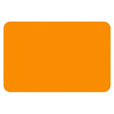 タカ印 ケイコーカード 中 ¥なし 橙 14-3534 1箱(30枚入×5冊) (取寄品)