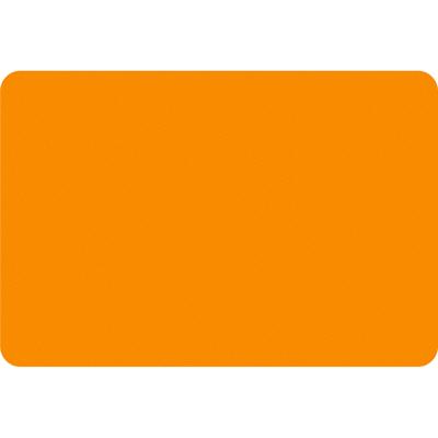 タカ印 ケイコーカード 特大 ¥なし 橙 14-3554 1箱(30枚入×5冊) (取寄品)