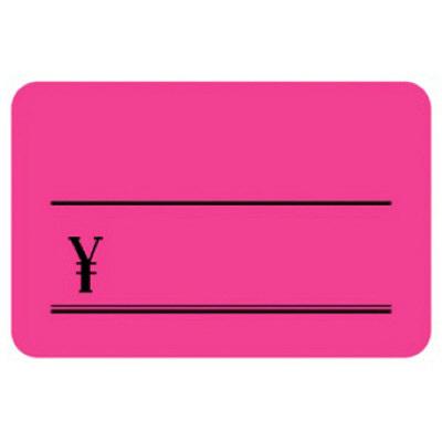 タカ印 ケイコーカード 中 ¥入り 桃 14-3633 1箱(30枚入×5冊) (取寄品)