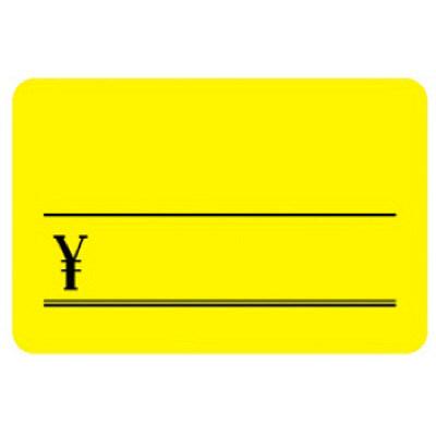 タカ印 ケイコーカード 大 ¥入りレモン 14-3645 1箱(30枚入×5冊) (取寄品)