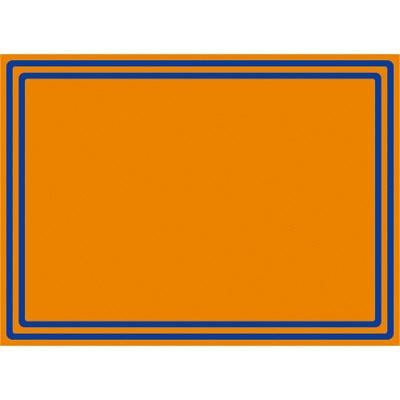 タカ印 ケイコーカード 二重枠 小 橙 14-3704 1箱(30枚入×5冊) (取寄品)