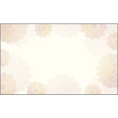 タカ印 カード レース 名刺サイズ 16-1636 1箱(30枚入×5冊) (取寄品)