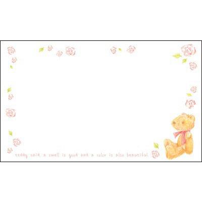 タカ印 カード ベア 名刺サイズ 16-1705 1箱(30枚入×5冊) (取寄品)
