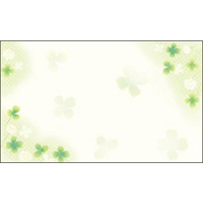 タカ印 カード 白つめ草 名刺サイズ 16-1727 1箱(30枚入×5冊) (取寄品)