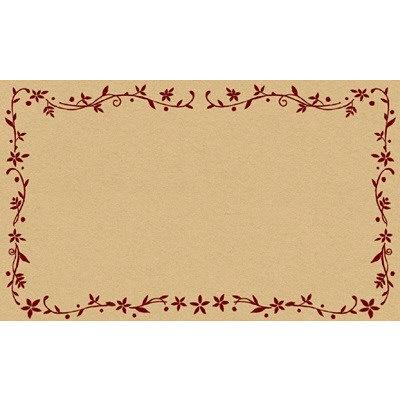 タカ印 カード レリーフ 無字 16-1731 1箱(30枚入×5冊) (取寄品)