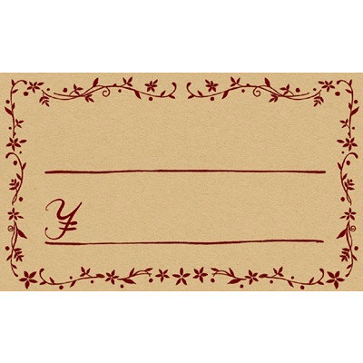 タカ印 カード レリーフ ¥付 16-1734 1箱(30枚入×5冊) (取寄品)