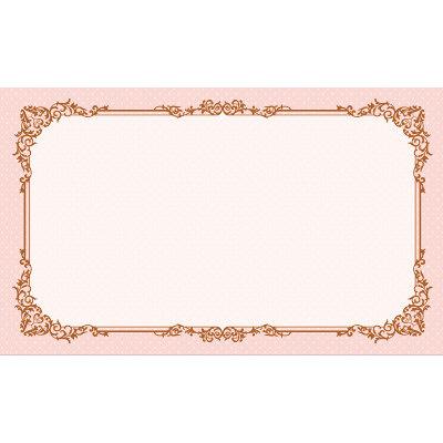 タカ印 カード レリーフピンク 名刺サイズ 16-1739 1箱(30枚入×5冊) (取寄品)