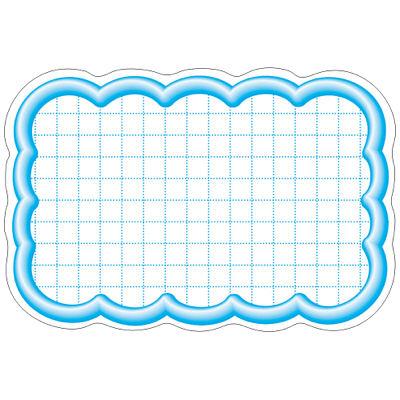 タカ印 抜型カード 立体枠 波四角¥なし 16-4117 1箱(50枚入×5冊) (取寄品)