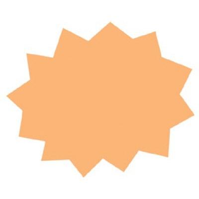 タカ印 ミニシルエットカード バクハツ 16-7001 1箱(30枚(10色各3枚)入×5冊) (取寄品)