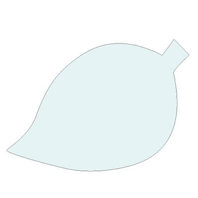 タカ印 シルエットカード 木の葉 16-7007 1箱(30枚(10色各3枚)入×5冊) (取寄品)