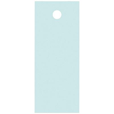 タカ印 スーパー提札 あさぎ<糸なし> 19-553 1箱(100枚入×5袋) (取寄品)