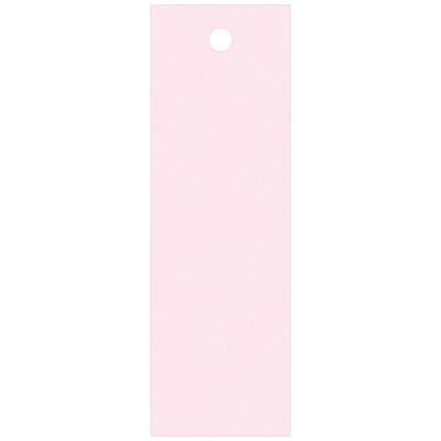 タカ印 スーパー提札 桃<糸なし> 19-560 1箱(100枚入×5袋) (取寄品)