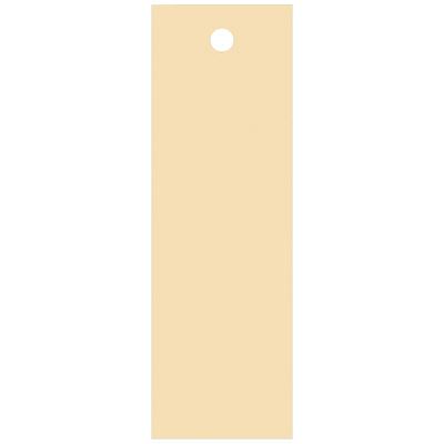 タカ印 スーパー提札 ベージュ<糸なし> 19-564 1箱(100枚入×5袋) (取寄品)
