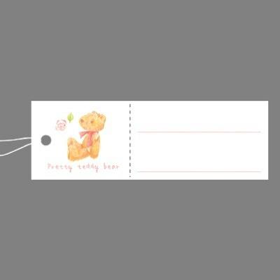 タカ印 スーパー提札 ベア 19-705 1箱(50枚入×5袋) (取寄品)