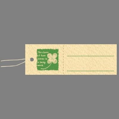 タカ印 スーパー提札 四つ葉のクローバー 19-730 1箱(50枚入×5袋) (取寄品)