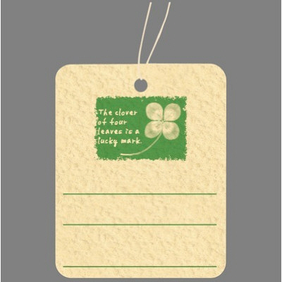 タカ印 スーパー提札 四つ葉のクローバー 19-740 1箱(50枚入×5袋) (取寄品)