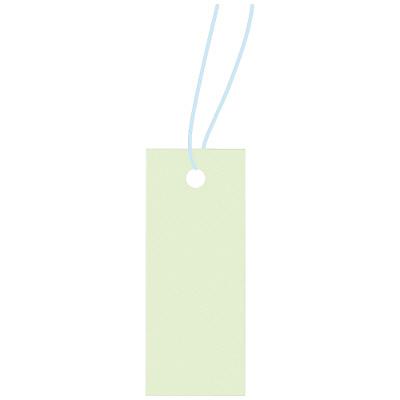 タカ印 スーパー提札 ミントグリーン 19-852 1箱(100枚入×5袋) (取寄品)