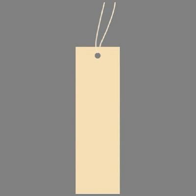 タカ印 スーパー提札 ベージュ 19-884 1箱(50枚入×5袋) (取寄品)