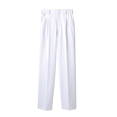 住商モンブラン メンズパンツ 医療白衣 白 L A72-1141