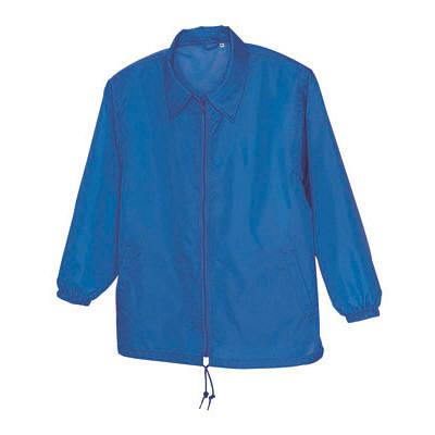 アイトス 裏メッシュジャケット(男女兼用) ブルー 4L AZ50101-006-4L (直送品)