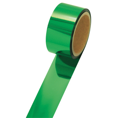 タカ印 メッキテープ 緑 25×20m 40-4451 1袋(6個入) (取寄品)