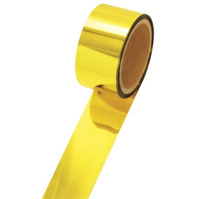 タカ印 メッキテープ 金 25×20m 40-4453 1袋(6個入) (取寄品)