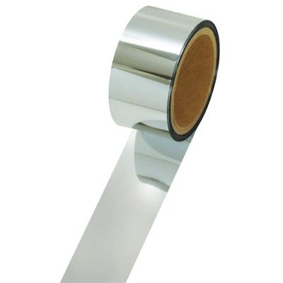 タカ印 メッキテープ 銀 25×20m 40-4454 1袋(6個入) (取寄品)