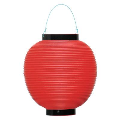 タカ印 ポリ提灯 赤(旧39-7036) 40-7036 1箱(5個入) (取寄品)