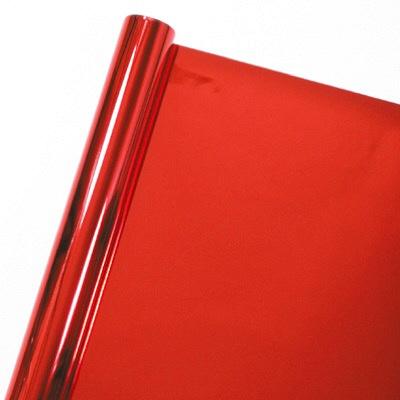 タカ印 店飾 メタリックカラーシート 赤 40-7532 (取寄品)