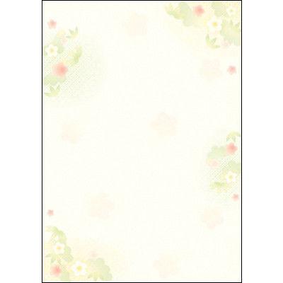 タカ印 和柄OA用紙 和ごころ 松竹梅 4-1023 1袋(10枚袋入×5冊) (取寄品)