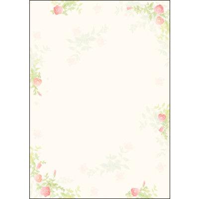 タカ印 デザインペーパーフラール ガーデン 4-3001 1袋(10枚袋入×5冊) (取寄品)