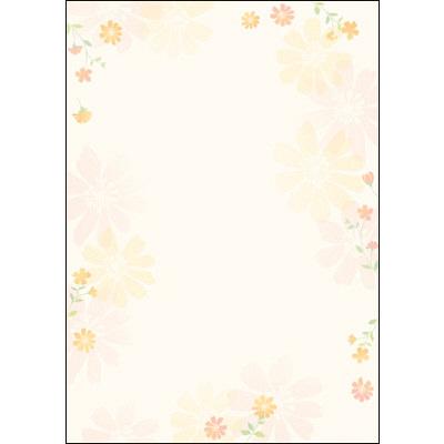 タカ印 デザインペーパーフラール フラワリー 4-3005 1袋(10枚袋入×5冊) (取寄品)