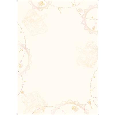 タカ印 デザインペーパーフラール アンティーク 4-3013 1袋(10枚袋入×5冊) (取寄品)