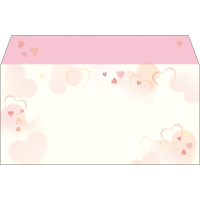 タカ印 商品券袋 横封式 ハートフル 9-373 1箱(100枚入) (取寄品)