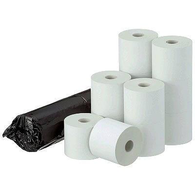 【感熱紙】レジロール 古紙パルプ80%配合 中保存 幅58mm×外径70mm 1パック(5巻入)
