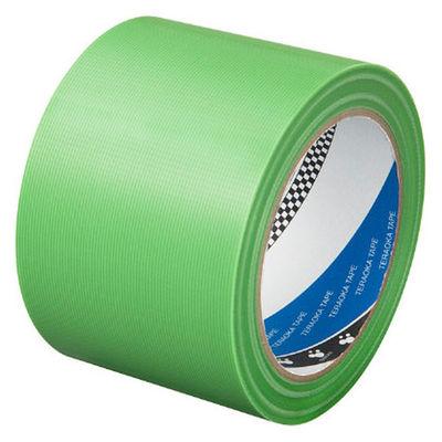 寺岡製作所 P-カットテープ 4140 強粘着 若葉 幅75mm×25m巻