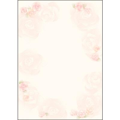 タカ印 デザインペーパーフラール ロージー 4-3000 1袋(10枚袋入×5冊) (取寄品)