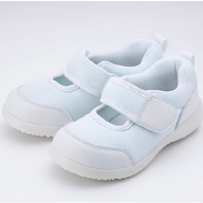 まいにちの園の靴 ホワイト 18.0cm