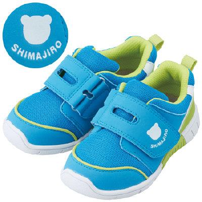 まいにちの靴キッズ ブルー 14.5cm