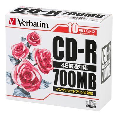 三菱化学メディア データ用CD-R10枚