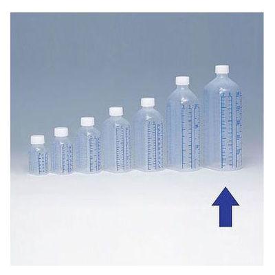 シンリョウ プリントメモリ瓶/青目盛 500ml 107080 1箱(40本入)