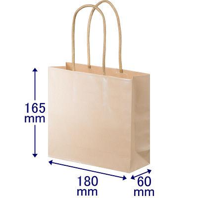 丸紐 手提げ紙袋 S 90枚