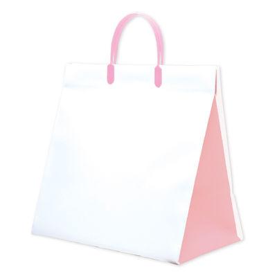 手提げ紙袋 ピンク 10枚