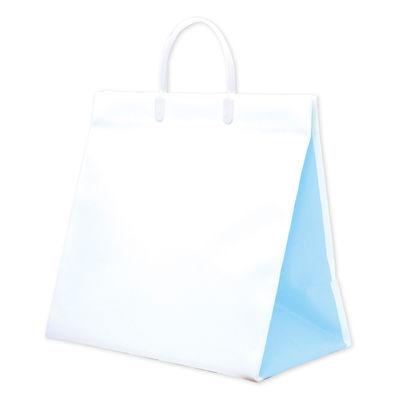 手提げ紙袋 ブルー 10枚