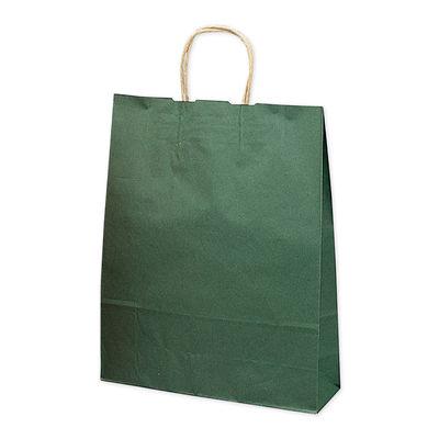 手提げ紙袋 エメラルド 特大 10枚